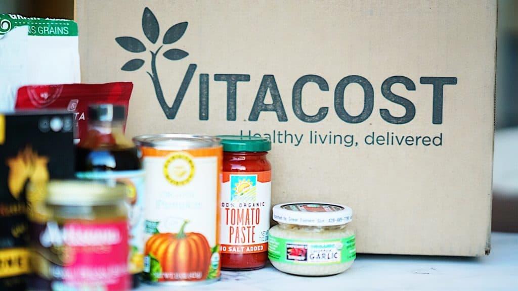 Vitacost organic pantry