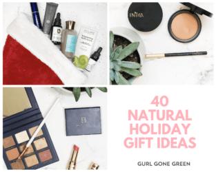 40 Natural Holiday Gift Ideas