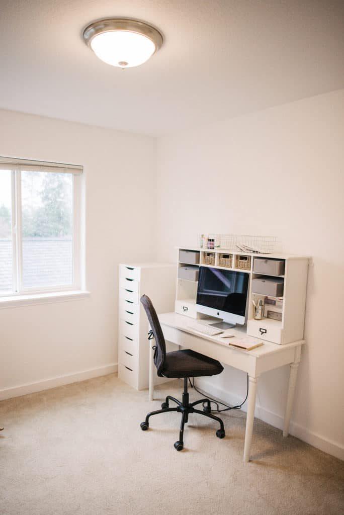modern office reveal