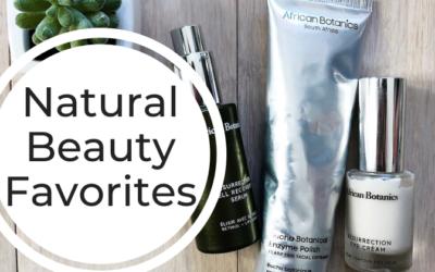 Natural Beauty Favorites