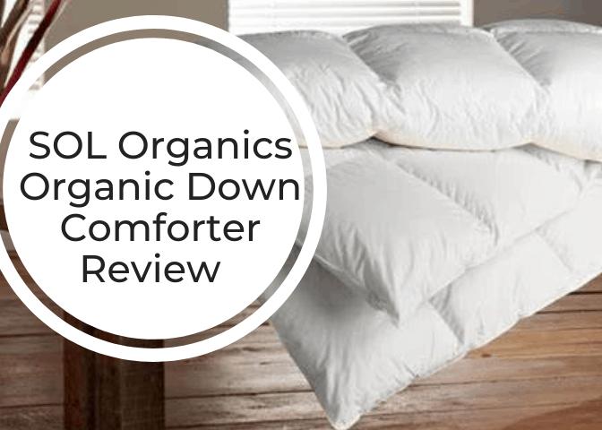 SOL Organics Luxury Down Comforter