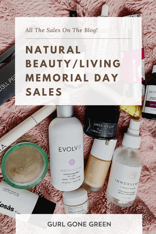 Natural Memorial Day Sales 2020
