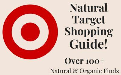My Top Natural and Organic Products at Target